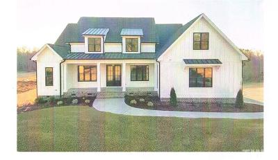 Pittsboro Single Family Home For Sale: Lot 1 Clark Self Road