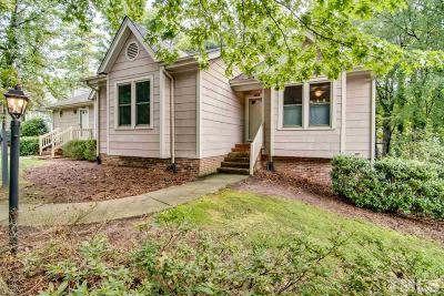 Raleigh Townhouse For Sale: 1412 Mapleside Court