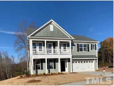 Knightdale Single Family Home For Sale: 4709 Sleepy Falls Run #Lot 49