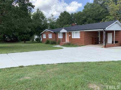 Fuquay Varina Single Family Home For Sale: 308 Bridge Street