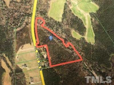 Zebulon Residential Lots & Land For Sale: Hinton Tract Nc 96 Highway