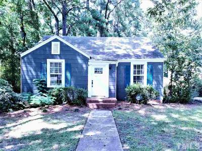 Durham Single Family Home For Sale: 103 E Edgewood Drive