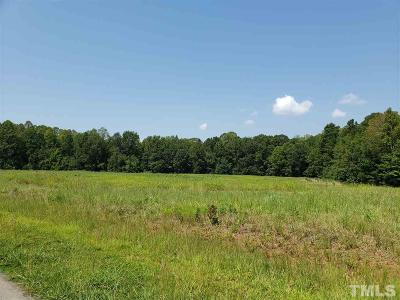 Chatham County Residential Lots & Land For Sale: 593 Howard Gilliland Road