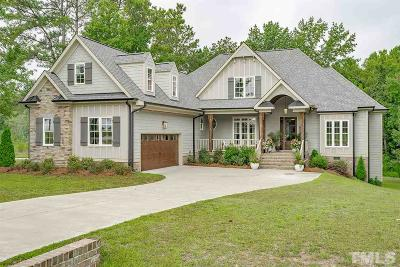Fuquay Varina Single Family Home For Sale: 3805 Olde Waverly Way