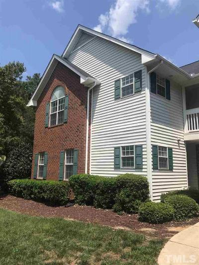 Cary NC Condo For Sale: $165,000