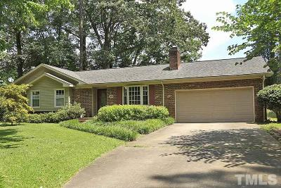 Garner Single Family Home Contingent: 109 Tiara Court