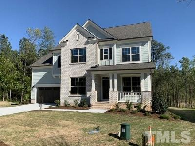 Holly Springs Single Family Home For Sale: 105 Silent Bend Drive #Lot 02