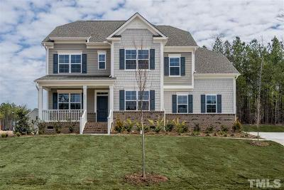 Holly Springs Single Family Home For Sale: 101 Canyon Ledge Drive #Lot 42