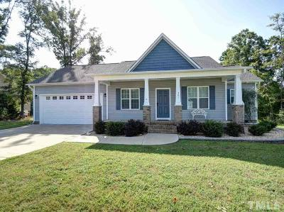 Clayton NC Single Family Home For Sale: $224,900
