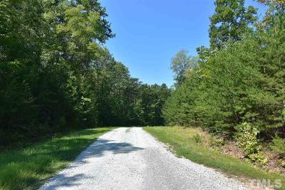 Rougemont Residential Lots & Land For Sale: Lot 5 Crabtree Glenn Road