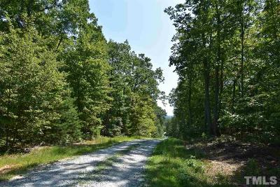 Rougemont Residential Lots & Land For Sale: Lot 8 Crabtree Glenn Road