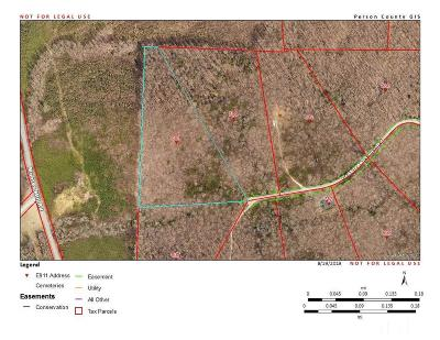 Rougemont Residential Lots & Land For Sale: Lot 9 Crabtree Glenn Road