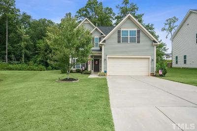 Clayton NC Single Family Home For Sale: $259,900
