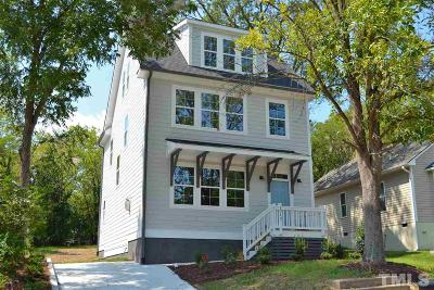 Durham Single Family Home For Sale: 1012 Rock Street