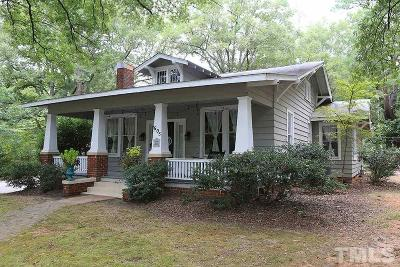 Wake Forest Single Family Home For Sale: 605 N Main Street North