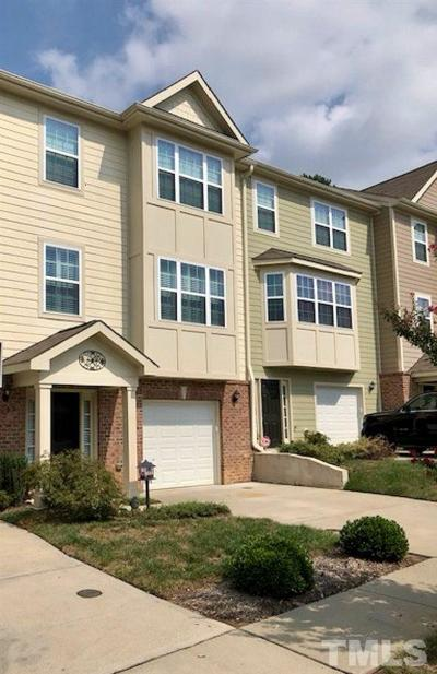 Wake Forest Townhouse For Sale: 1207 Heritage Links Drive
