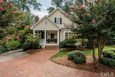 Raleigh Single Family Home For Sale: 1020 Brooks Avenue