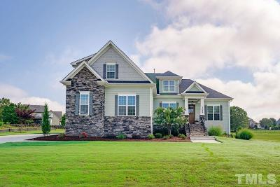 Wake Forest Single Family Home For Sale: 3225 Donlin Drive