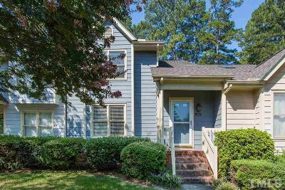 Raleigh NC Townhouse For Sale: $200,000