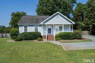 Pittsboro NC Single Family Home For Sale: $208,000