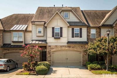Cary Townhouse For Sale: 308 Sunstone Drive