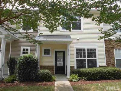 Wake County Townhouse For Sale: 11226 Lofty Heights Place