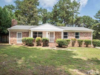 Wake County Single Family Home For Sale: 14012 Durant Road