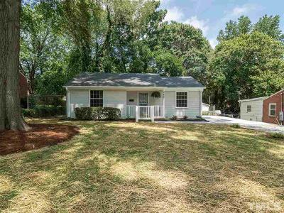 Raleigh Single Family Home For Sale: 2457 Derby Drive