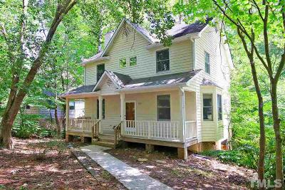 Carrboro Single Family Home For Sale: 100 Millrock Court