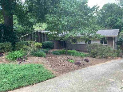 Cary Single Family Home For Sale: 421 Oakridge Road