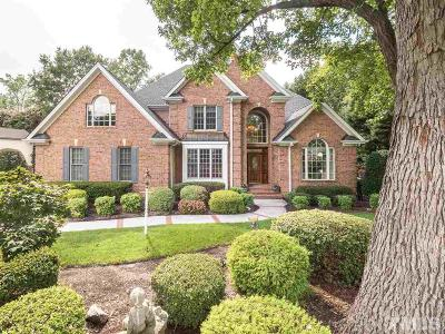 Cary Single Family Home Contingent: 111 Bosswood Court