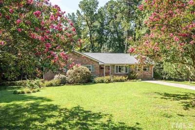 Durham Single Family Home For Sale: 1725 Marly Drive