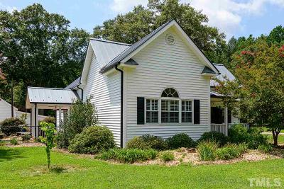 Johnston County Single Family Home For Sale: 7227 Cleveland Road