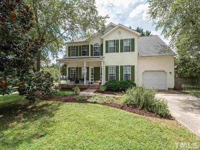 Wake County Single Family Home For Sale: 9101 Armorton Lane