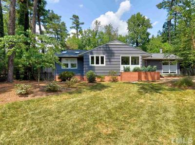 Raleigh Single Family Home For Sale: 3448 Bradley Place