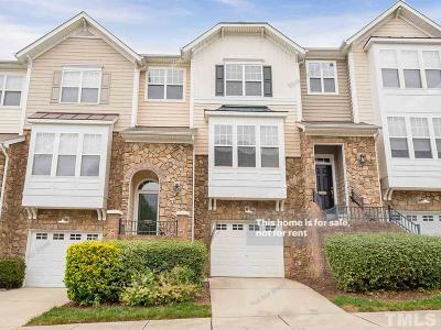 Raleigh Townhouse For Sale: 5704 Cameo Glass Way