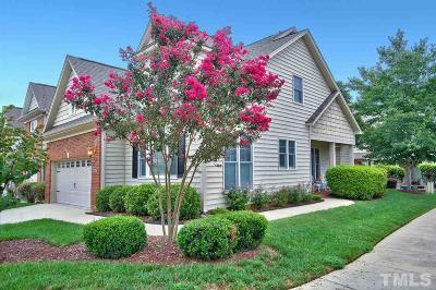 Cary Townhouse For Sale: 215 Dungarven Loop