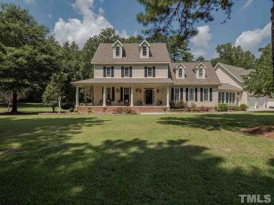 Zebulon Single Family Home For Sale: 10825 Debnam Road