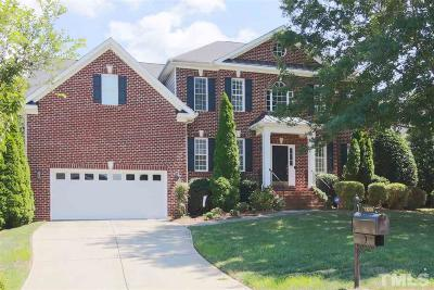 Wake County Single Family Home For Sale: 12208 Fieldmist Drive
