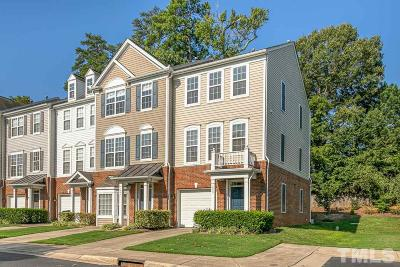 Raleigh Townhouse For Sale: 1642 Brook Fern Way
