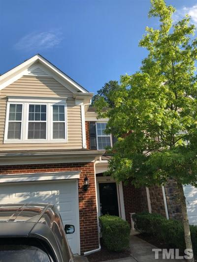 Morrisville Rental For Rent: 503 Perrault Drive