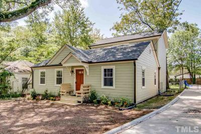 Durham County Single Family Home For Sale: 915 Alabama Avenue