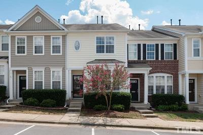 Raleigh Townhouse For Sale: 7645 Winners Edge Street