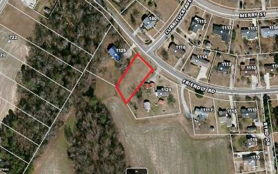 Harnett County Residential Lots & Land For Sale: Friendly Road