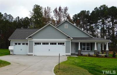 Johnston County Single Family Home For Sale: 70 Cattail Lane