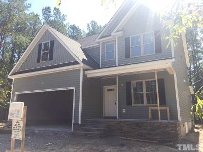 Knightdale Single Family Home For Sale: 1004 Bourne Street