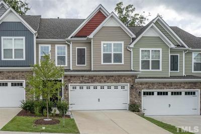Cary Townhouse For Sale: 524 Suttons Walk Drive