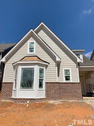 Holly Springs Single Family Home For Sale: 308 Daisy Grove Lane #Lot 267