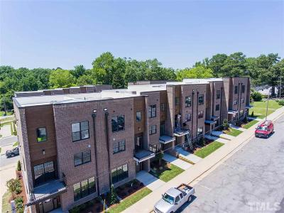 Fuquay Varina Townhouse For Sale: 292 Spring Avenue