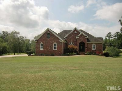 Angier Single Family Home For Sale: 1868 Benson Road